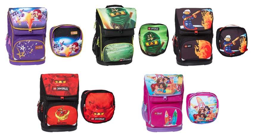 84b981b70f Batoh s hrudným popruhom a vystuženým vreckom na tablet alebo notebook.  Vhodný pre prváčikov vyššieho vzrastu. Lego školské tašky ...