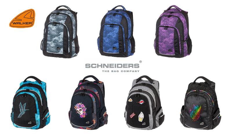 435d2b2e58 Tohtoročnú kolekciu možno rozdeliť na klasické dvojkomorové školské batohy  modelovej rady Snatch a Fame. Sú vhodné pre študentov od 4. triedy ZŠ.