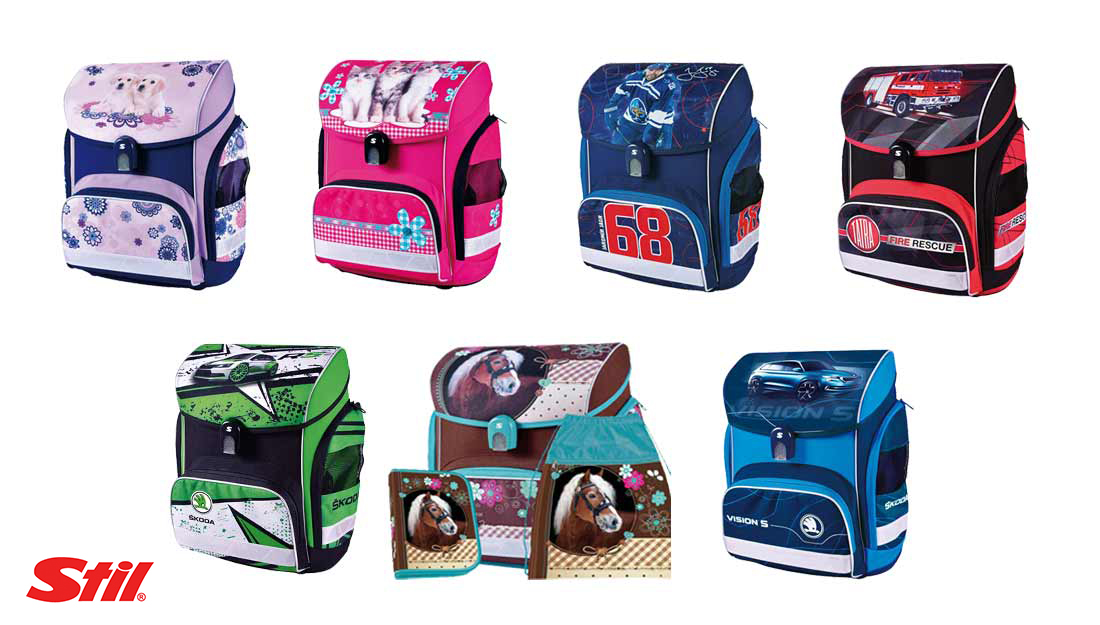 67765de3a5 Stil - nová kolekcia školských aktoviek a batohov