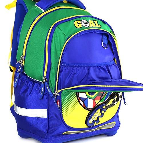 6db62ad3ba Školský batoh Target Goal zeleno modrý ...
