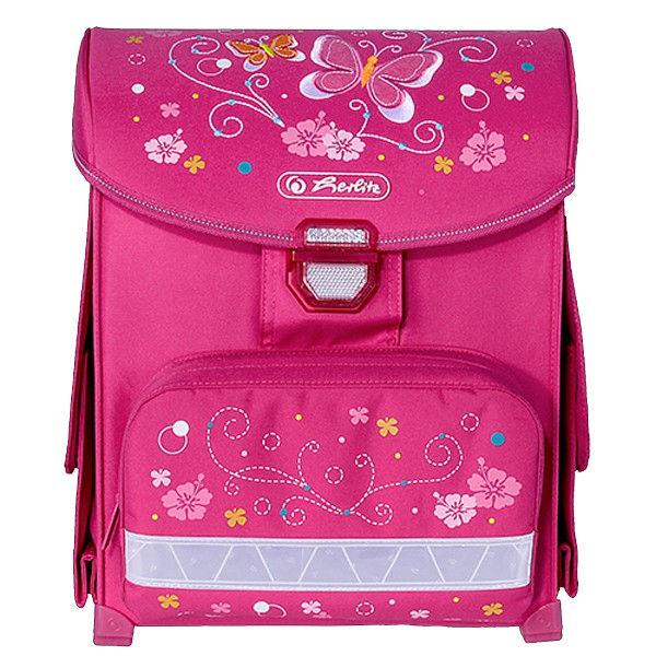 cce530ba30 ... Školská taška Herlitz SMART Motýľ a nožnice zadarmo ...