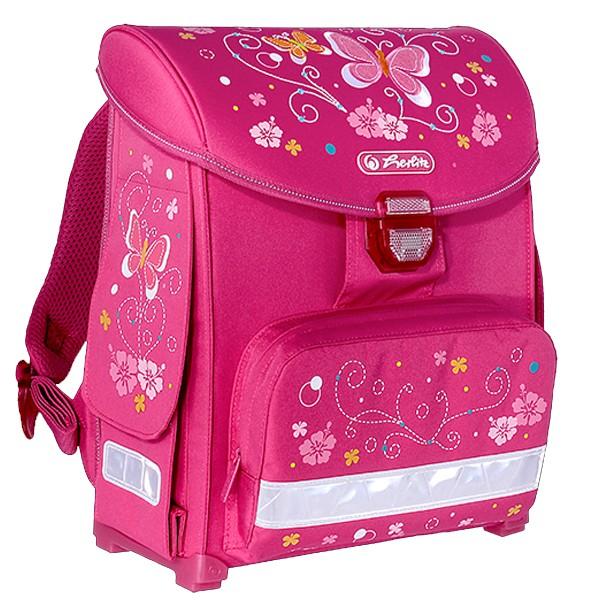 34602b0356 Školská taška Herlitz SMART Motýľ a nožnice zadarmo ...