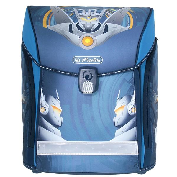 6b61558bda Školská taška Herlitz Midi Robot 4d. set + nožnice a doprava zdarma ...