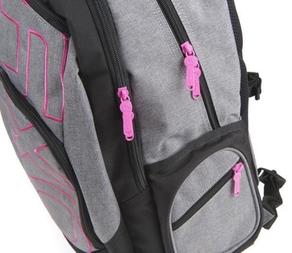 79bc570fb4f ... Študentský batoh OXY Style GREY LINE Pink