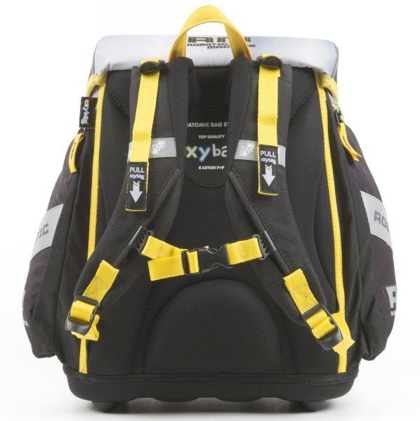 abc259755e ... Školská taška Premium Robot + reflexný prívesok zdarma