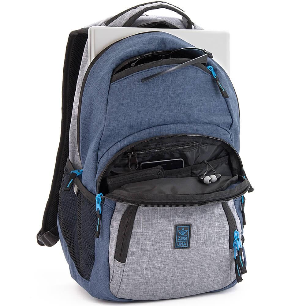 2e4f99d6ee ... Školský batoh Ars Una AU2 modrý ...