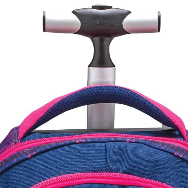 67e8390a17 Školský batoh Belmil 338-45 Flamingo na kolieskach ...