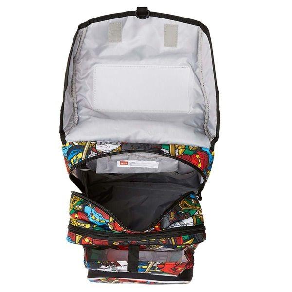 ... Školská taška LEGO LEGO Comic Maxi 2dielny set ... c4c71cd1ef
