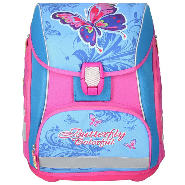 ca3ac39663 ... Školská taška SPIRIT Pro light Motýľ SET ...