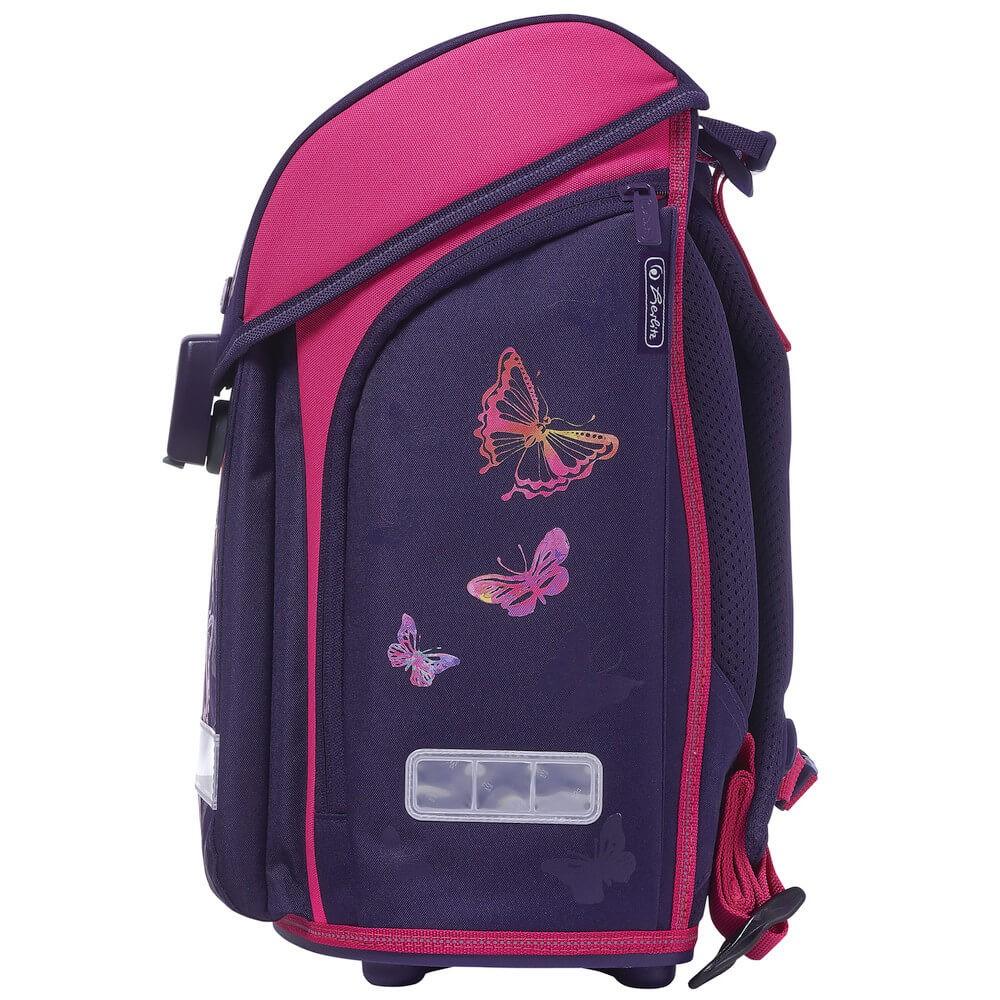 d49e5daa7e ... Školská taška Herlitz Midi Dúhový motýľ SET + sada štetcov a doprava  zdarma ...