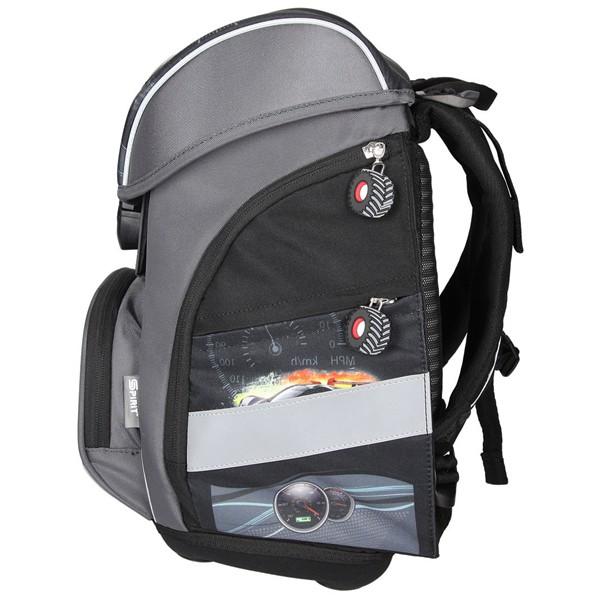 38e66b6b4e ... Školská taška SPIRIT Pro light Športové auto SET ...