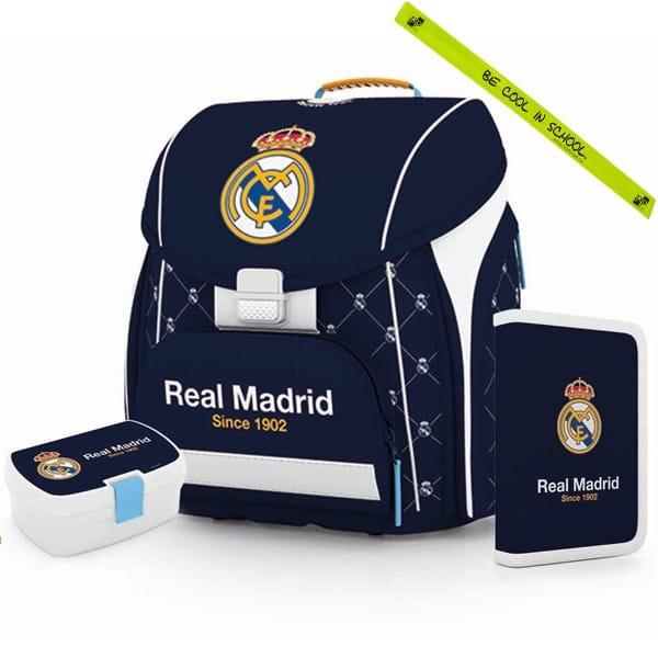 4a64a219ee Školská taška Premium Real Madrid - SET + reflexný pásik a doprava zdarma