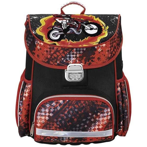 a4f40e418b Školská taška pre prváčikov Hama Motorka