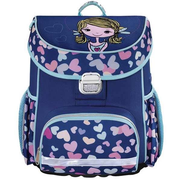 f27bffef87 Školská taška pre prváčikov Hama Dievčatko