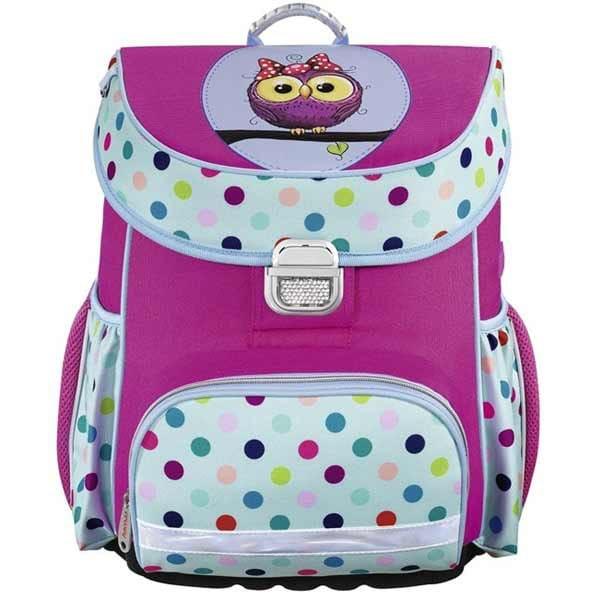 Kvalitné školské batohy a aktovky s motívom sova  cebf0391303