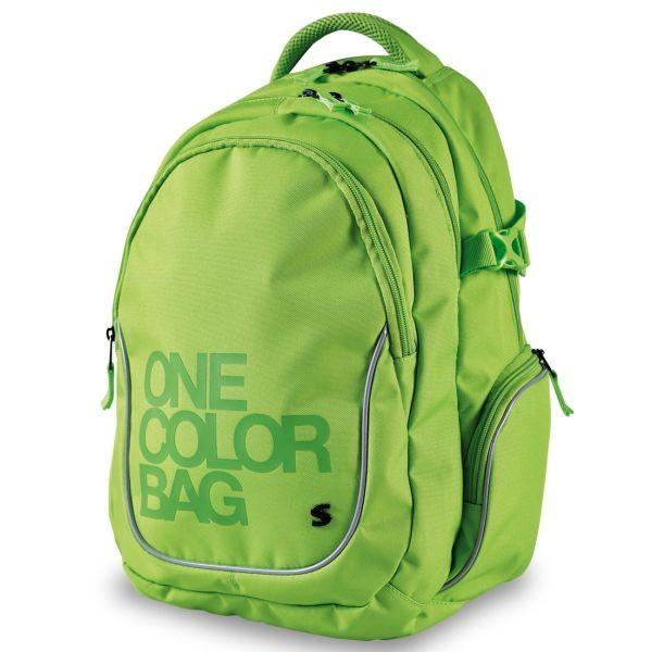 808f185f42 Študentský batoh Stil One Color zelený