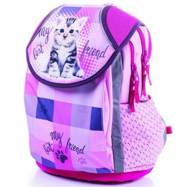aec1333554 Školské tašky pre prvákov s motívom mačky
