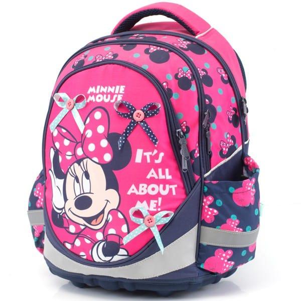 0ed0297caa9 Kvalitné školské batohy a aktovky s motívom Minnie