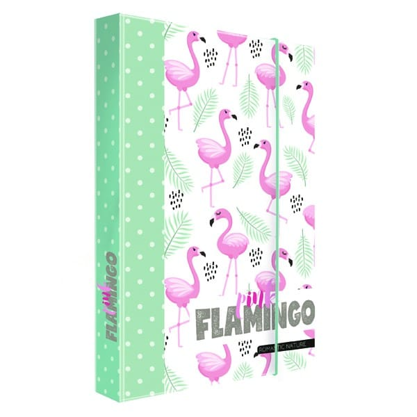 83948f6aa4 Dosky na zošity A4 Romantic Nature Flamingo 2