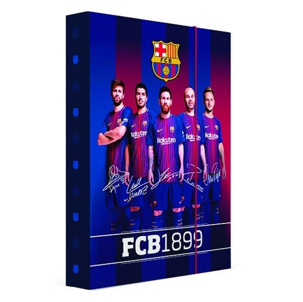 ebedf3200a Box na zošity A4 Jumbo FC Barcelona
