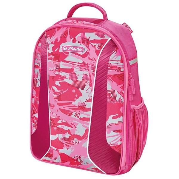 f53bd50d6a Školský batoh Herlitz be.bag Airgo Kamufláž ružová