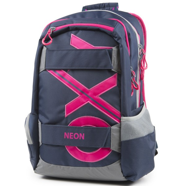 Študentský batoh OXY Sport BLUE Line Pink  7cd397527b