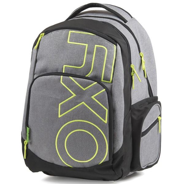 e31bdf6d3b7 Študentský batoh OXY Style GREY LINE Green
