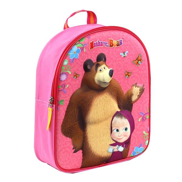 Detský batoh Máša a medveď 3D  1873abca240