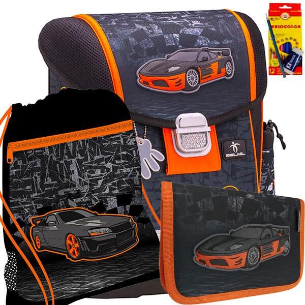 81ad43bbd8 Školský batoh BELMIL 403-13 Speed Hunter - SET + potreby Koh-i-noor a  doprava zdarma