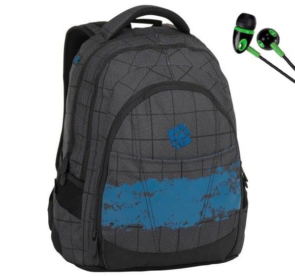 73af0f2809 Študentský batoh Bagmaster DIGITAL 8 D + slúchadlá a doprava zdarma