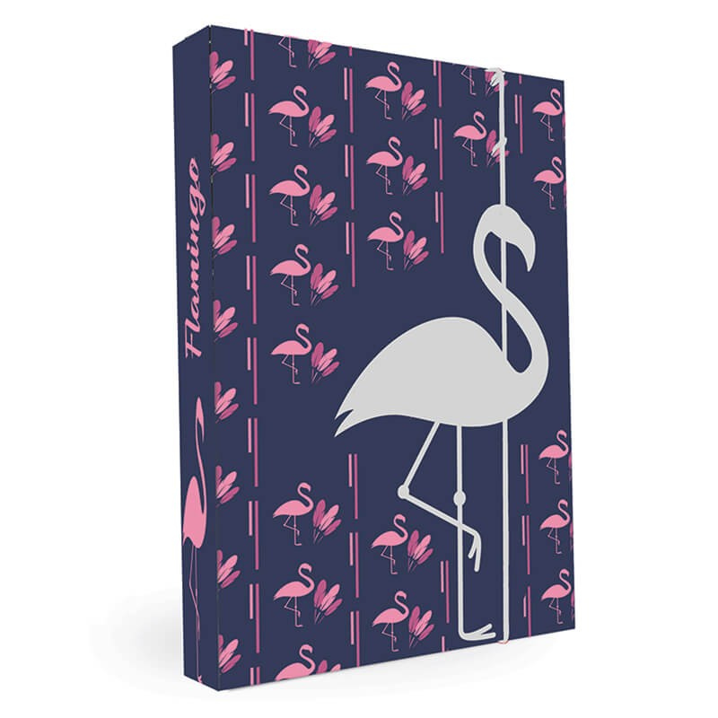 ca0db26494 Dosky na sešity A4 Romantic Nature Flamingo