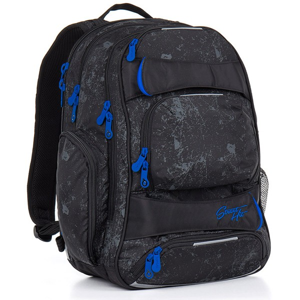 ce4ee496e1 Školský batoh Topgal HIT 882 A Black