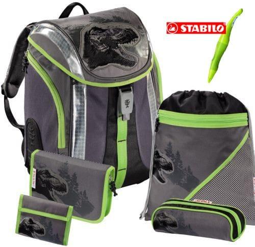 b513e830d4 Školská taška Hama Flexline Dino - set + dopravné a pero ZDARMA