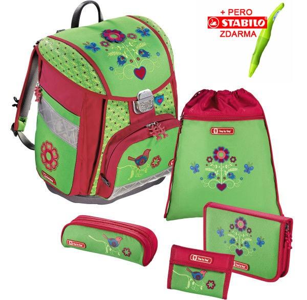 01ac6bf4c9 Školská taška Hama Step by Step Country Flower set + stabila a doprava  zdarma