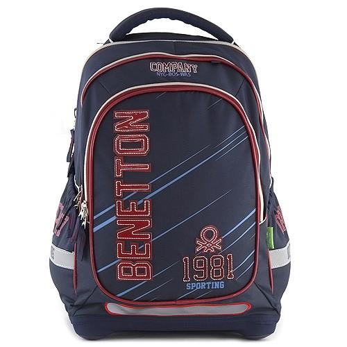 a7f5952911 Školský batoh Target Benetton Sporting