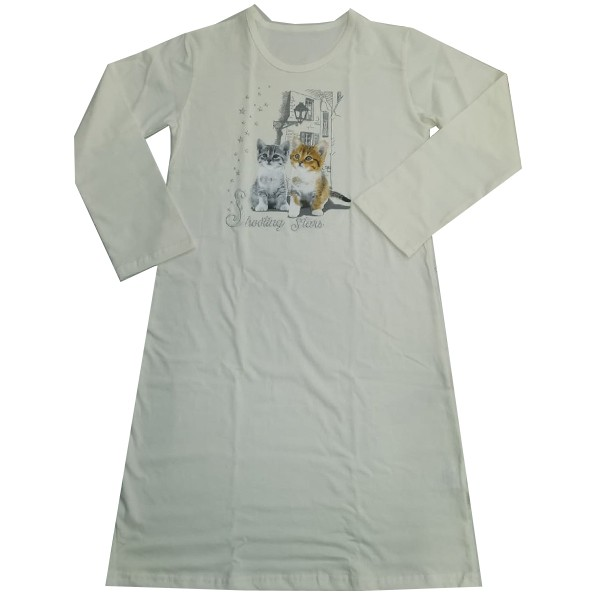 a4eac522aaef Detská nočná košieľka Cornette Lovely Cats 2