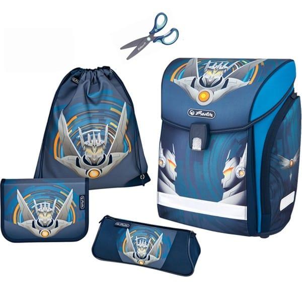 45047eb8f3 Školská taška Herlitz Midi Robot 4d. set + nožnice a doprava zdarma