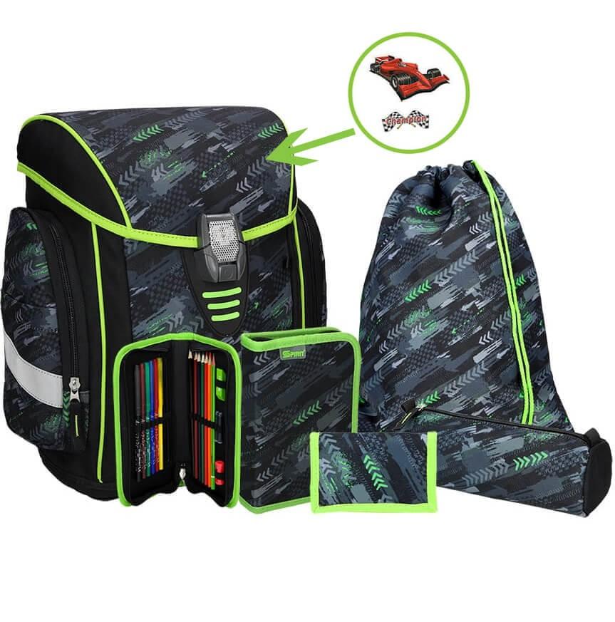 12d54a70ed Školská taška SPIRIT Cosmo 04 SET