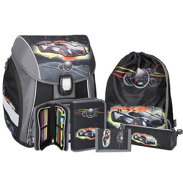 b8997805e1 Školská taška SPIRIT Pro light Športové auto SET