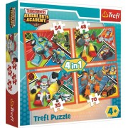 Puzzle Transformers 4 v 1
