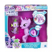 MLP Hrací set so spievajúcou Twilight Sparkle a Spikem