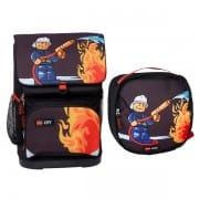 1750f13f27 Školská taška LEGO CITY Fire Small 2dielny set