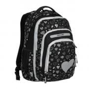 Školský batoh EXPLORE BAR Black Hearts 2 v 1 820cee26ff6