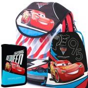 6d56199eb2 Školský anatomický batoh PLUS Cars SET
