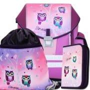 4d1729ca5b Kvalitné školské batohy a aktovky s motívom sova
