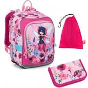 d02e2f074e Kvalitné školské batohy a aktovky vo farbe ružová