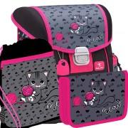 4751e3942 Školský batoh BELMIL 403-13 I Love Cat - SET