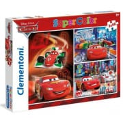 Puzzle Cars 3x48 dielov