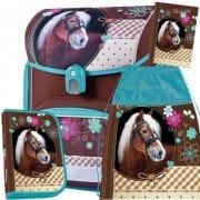 6eb440cb0a Školská anatomická aktovka Stil Sweet Horse - 3dielny set